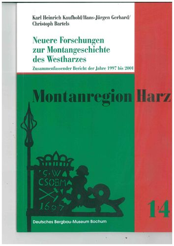 Montanregion Harz, Band 14